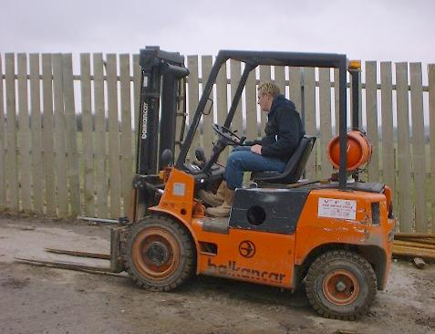 Counterbalance Forklift Truck image
